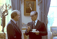 Jimmy Carter and the Shah of Iran , 11/15/1977 - ARC Identifier: 176858.