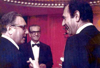 The Shah of Iran, Secretary Henry Kissinger and Ambassador Ardeshir Zahedi, 07/24/1973